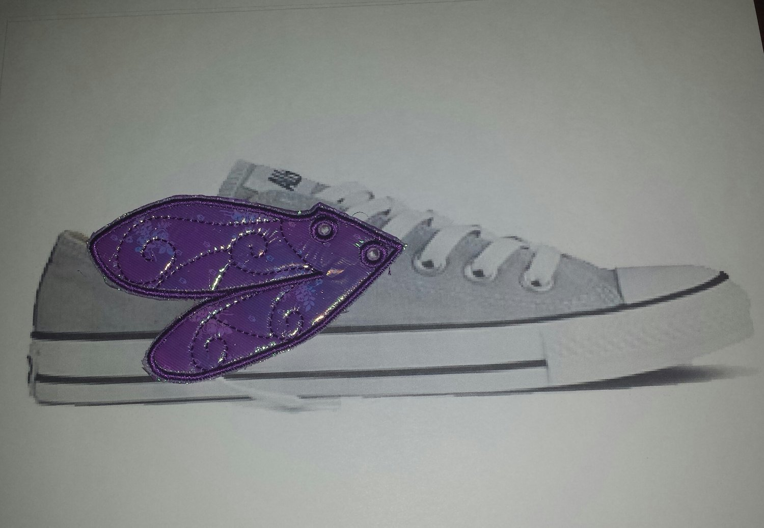 Dragonfly Adult customized shoe wings