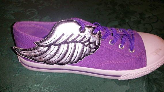 Angel wings3 adult customized shoe wings