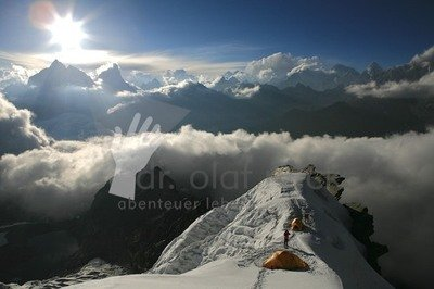 Hochlager über dem Khumbu