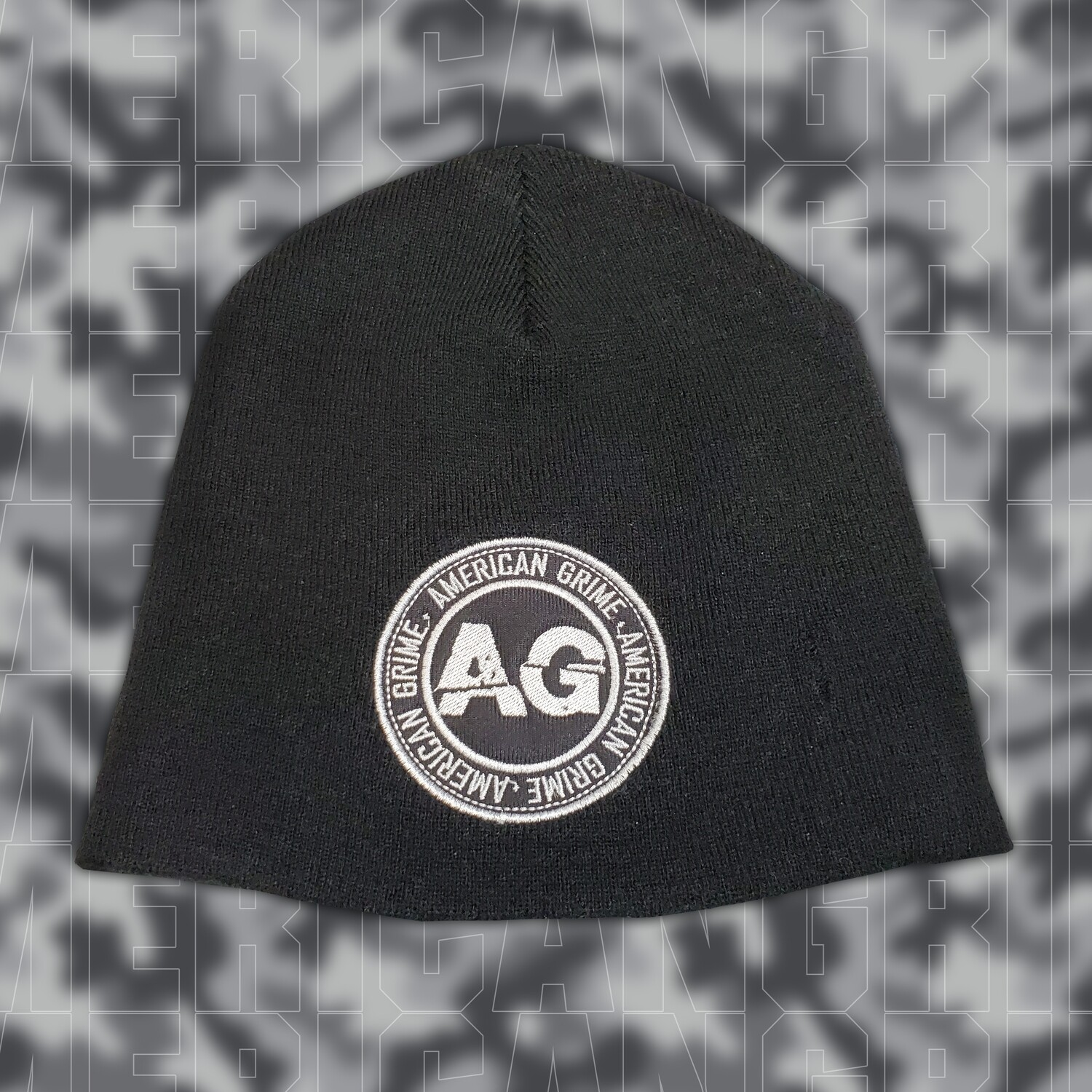 American Grime Patch Beanie