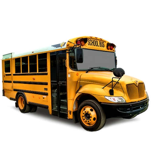School Bus Lettering Type A and B