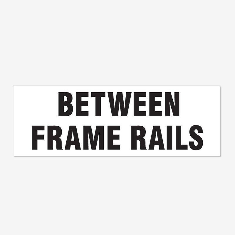 Between Frame Rails