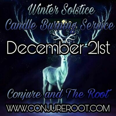 Winter Solstice Candle Light Releasing Service