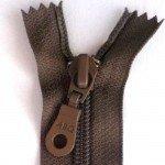"""A B Q Designer Bag Zipper 22"""" Iron"""