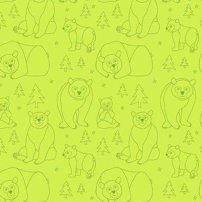 Andover Beary Happy On Green