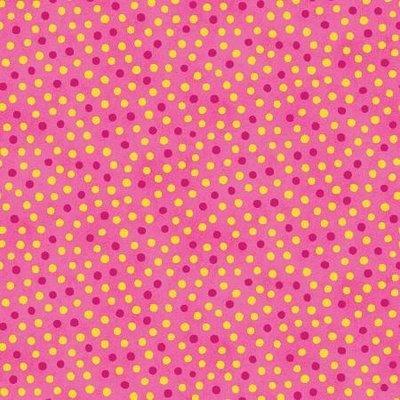 Benartex Summer Garden Dot Hot Pink