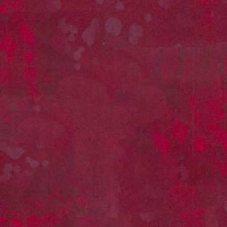 Benartex Fossil Fern Red Peony
