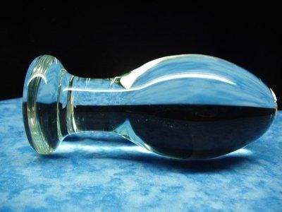 EGG GLASS BUTT PLUG SEX TOYS