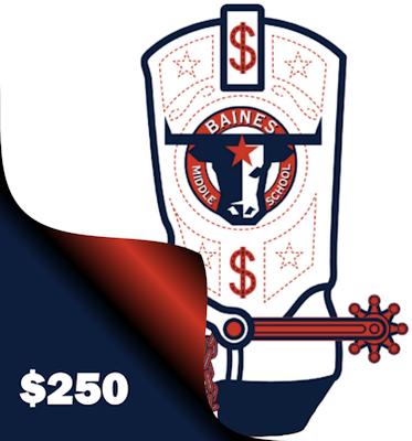 Longhorn Loot $250 Donation