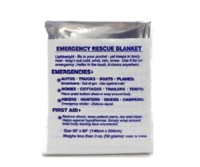 Blanket - emergency rescue (foil)  54