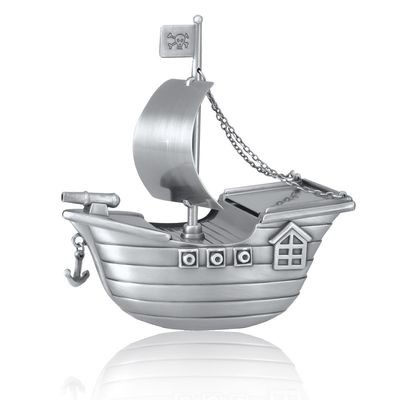 Pirate Ship Urn (Free Engraving)