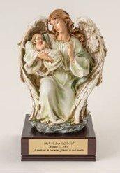 Angel Holding Baby Urn   U-AHB