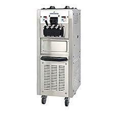 Ice cream machine floor standing  3 lever