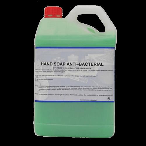 ANTI-BACTERIAL HAND SOAP PEARL GREEN 5L \ 25L
