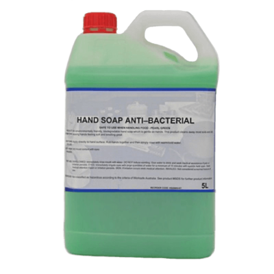ANTI-BACTERIAL HAND SOAP PEARL GREEN 5L \ 25L