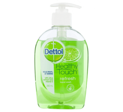 HAND WASH DETTOL FRESH 250ML PUMP PACK