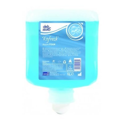 DEB REFRESH AZURE FOAM WASH 1L CARTRIDGE