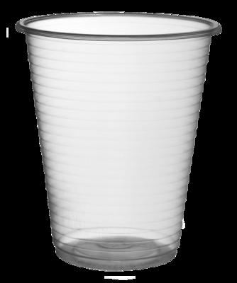 PLASTIC VENDING CUPS 180ml (6oz)