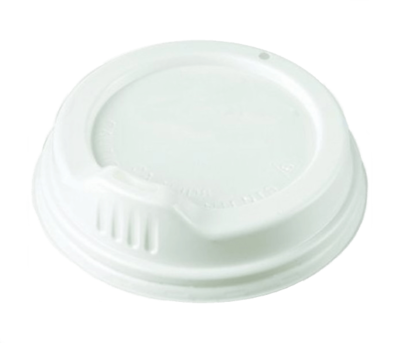 SIPPA LID WHITE, TO SUIT 227ml (8oz) CUPS