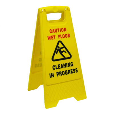 SAFETY SIGN 'A' FRAME YELLOW
