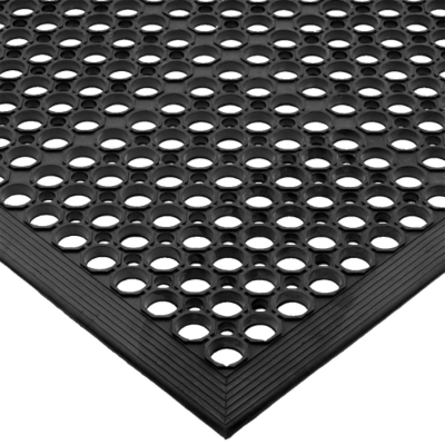 ANTI-FATIGUE MAT BLACK 150CM X 90CM, WET AREA ANTI-SLIP