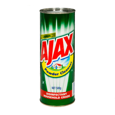 AJAX POWDER CLEANSER LEMON 500G