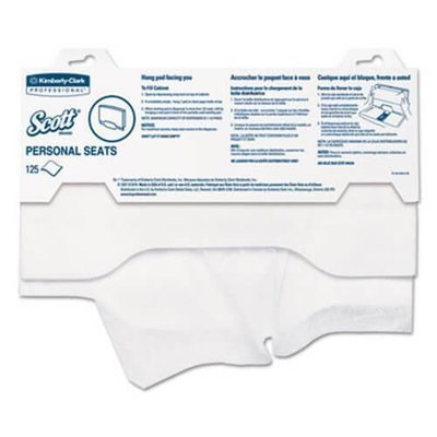 SCOTT 7410 TOILET SEAT COVERS 125 SHEETS CTN 24