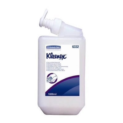 KIMCARE 6332 HAIR & BODY SHOWER GEL CTN 6 X 1L CARTRIDGE