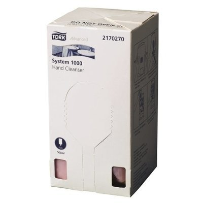 TORK® SYSTEM 1000 HAND CLEANSER CTN 12 CARTRIDGES X 500ML