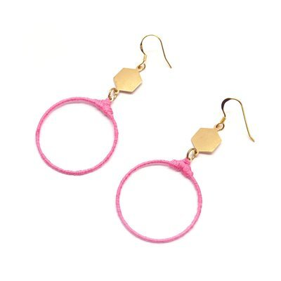 Flamingo pink earrings - designer shop, Gifts For Her, Fashion Accessories