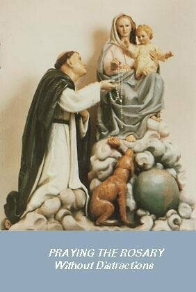 Praying the Rosary Without Distractions - Pack of One Thousand Copies
