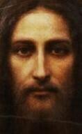Holy Face Holy Card