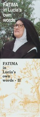Fatima in Lucia's Own Words: Two Volume Set