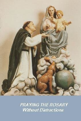 Praying the Rosary Without Distractions - Pack of One Hundred Copies