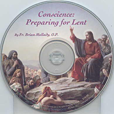 Conscience: Preparing for Lent