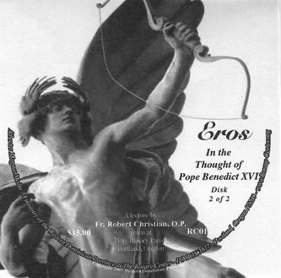 Eros in the Thoughts of Pope Benedict XVI