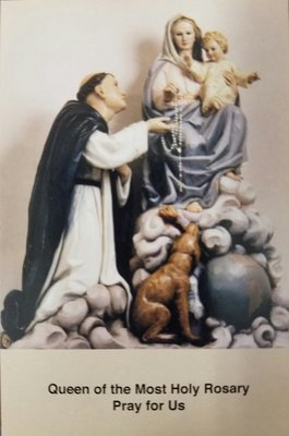 Shrine of Our Lady of the Rosary Prayer Cards (Pack of Twenty-five)