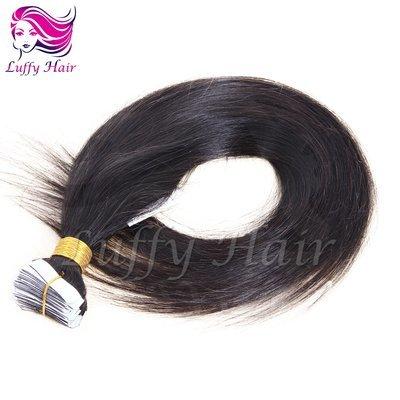 8A Virgin Human Hair Silky Straight Tape In Hair Extensions - KTL001