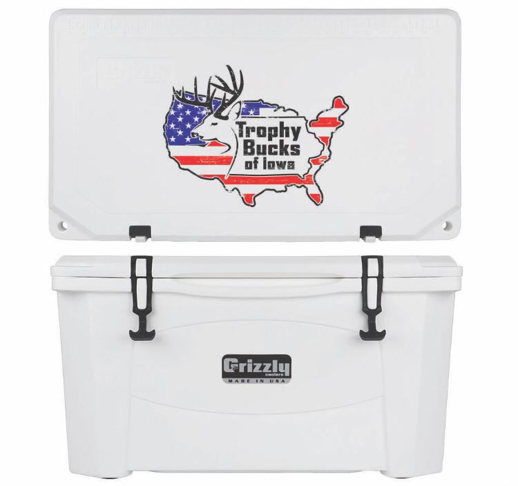 Grizzly G60 (60 quart) TBI USA Logo White