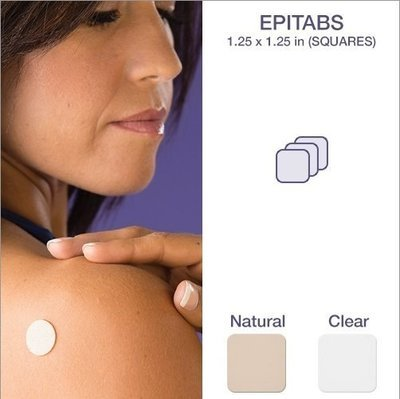 Flaster za ožiljke Epi-derm 3 x 3 cm. Tri flastera.
