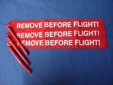 Remove Before Flight Flag RBF 7101-5