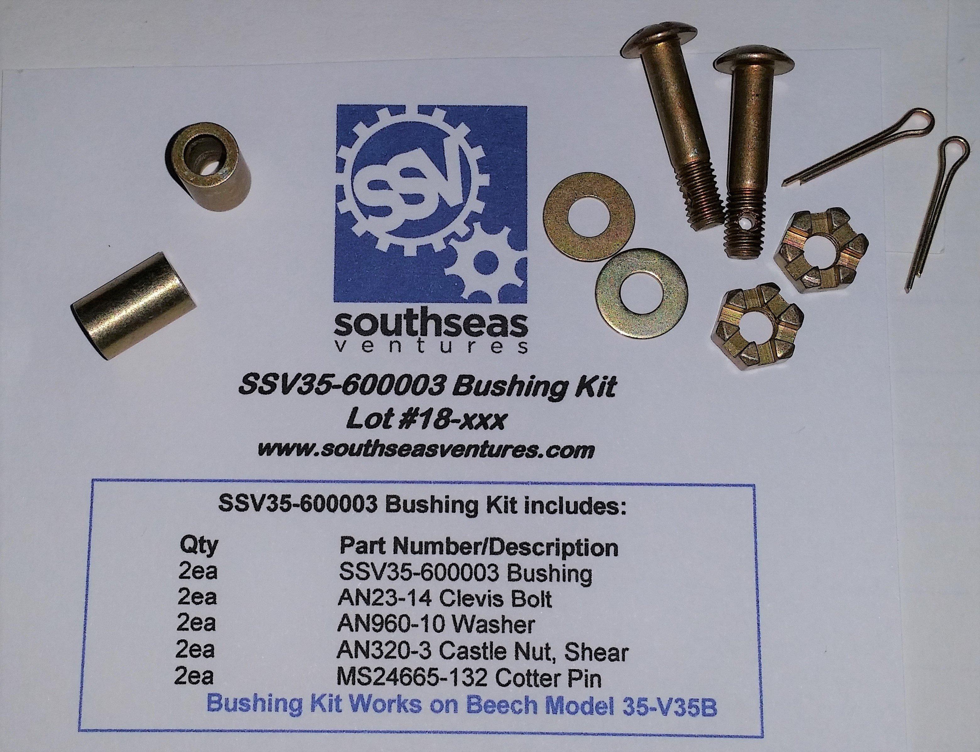 SSV35-600003 Bushing Kit 58762