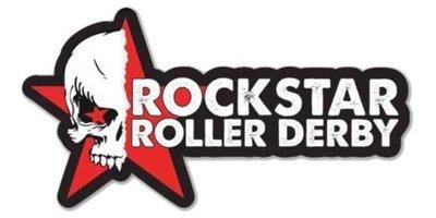 Rockstar Roller Derby Stickers