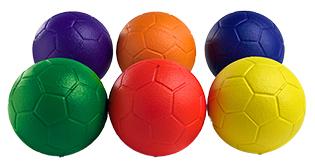 PE Elementary Middle School Foam Tchoukball (pack of 6) (size 0)