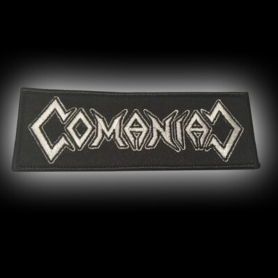 PATCH BLACK – COMANIAC LOGO