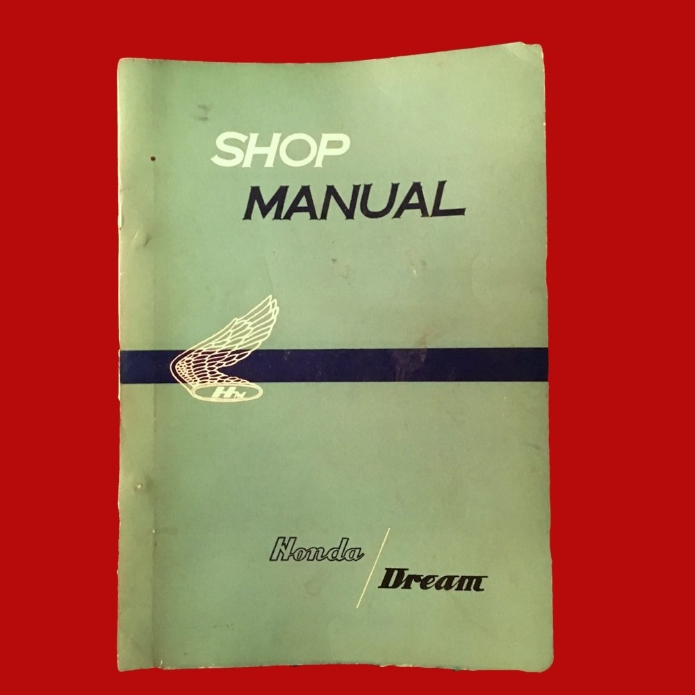 Shop Manual Honda Dream 1959 C71 C76 250 300 (305) OEM