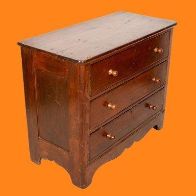 Small Sturdy Wooden Dresser