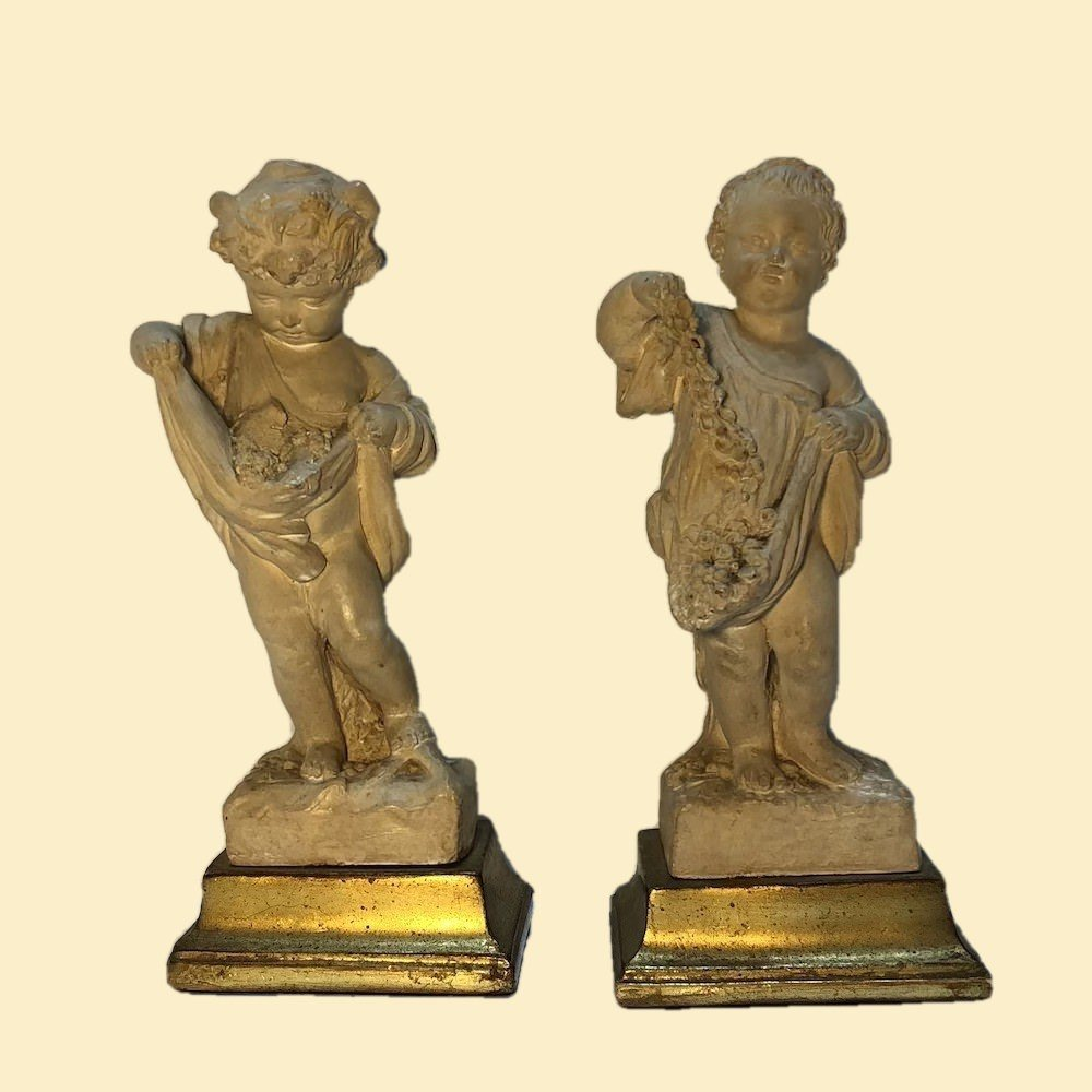 Borghese Putti Figures Pair