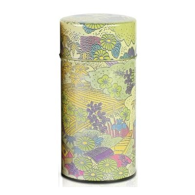 Komon Japanese Tea canister (Green - 200g)