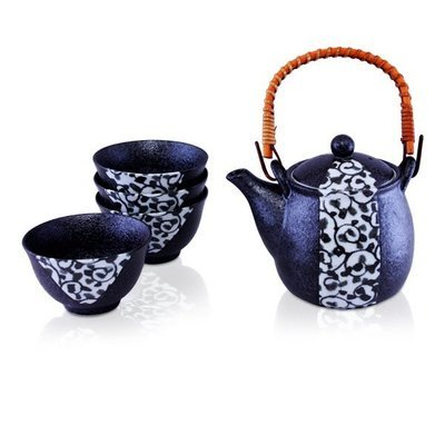 ​Kikuno Teapot + 4 Cup Set 480ml